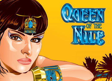 Queen of the Nile Slot Machine by Aristocrat